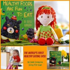 The World's First Healthy Eating Doll and Picture Book
