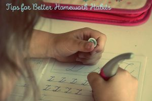 Ways to Help Your Child Develop a Positive Homework Habit