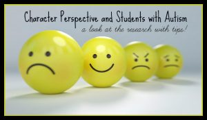 Teaching Children with Autism about Character Perspective