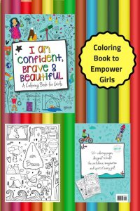Coloring Book to Inspire and Empower Girls