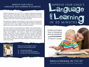 Improve Your Child's Language and Learning in 20 Minutes